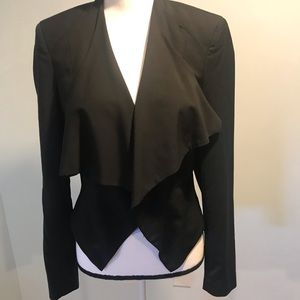 Bebe Black Blazer size 8